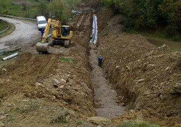 Omurtag water pipeline