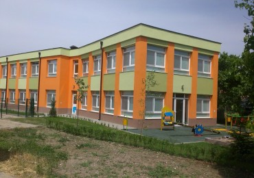 Design and build of kindergarten in the village of Trud